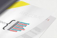 Annual Report Brochure by Unicogfx , via Behance