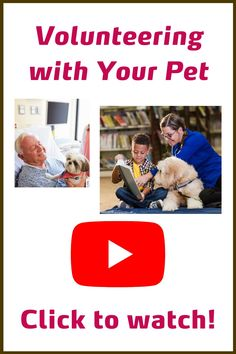 Volunteering with Pet Partners | Pet Partners | We want you to have all the information you need to decide if volunteering with your pet is the right choice. So we've created webinars with tips, information, and resources to help you understand what volunteering with your pet means. Watch one of our webinars today by clicking the pin and find out more about how you and your pet can help those in need through the human-animal bond. Emotional Support Animal, Nonprofit Fundraising, Therapy Dogs, Mental Health Awareness, Your Pet, Bond, Social Media, Watch, Learning