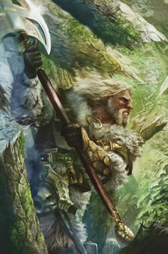 Hurin was shorter than other men, fair of face and golden-haired, strong in body and fiery of mood. But the fire in him burned steadily and he had great endurance of will, of all men of the north he knew most of the counsels of the Eldar.