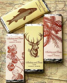 favors chocolate bars packaging