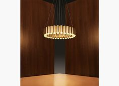 Carousel Brass Chandelier by Lee Broom | From a unique collection of antique and modern chandeliers and pendants  at https://www.1stdibs.com/furniture/lighting/chandeliers-pendant-lights/