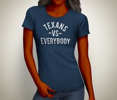 Women's Texans vs Everybody Tee