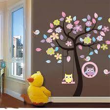 Resultado de imagen para murales infantiles de arboles
