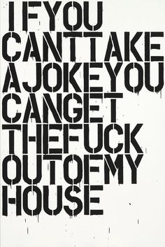 Christopher Wool, If You (Deste Foundation poster)