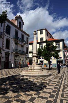 Largo Chafariz, Funchal, Madeira Island