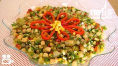Videolu anlatım Nohutlu Mercimekli Gün Salatası Videosu Tarifi nasıl yapılır? 7.465 kişinin defterindeki bu tarifin videolu anlatımı ve deneyenlerin fotoğrafları burada. Yazar: NYT Mutfak