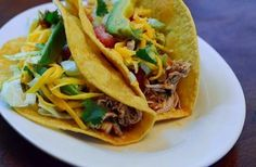 How to make crock pot chicken tacos   Ingredients  5 boneless chicken breasts  3 heaping tablespoons taco seasoning  3/4 cup diced onion  ...