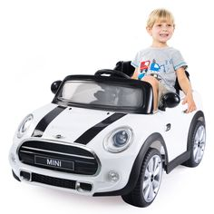 MINI Hatch 12V Electric Kids Ride On Car Licensed MP3 RC Remote Control