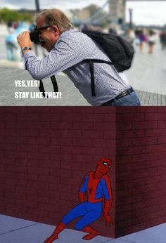 Your favorite superhero with an attitude problem is back with some hilariously funny Spiderman memes.