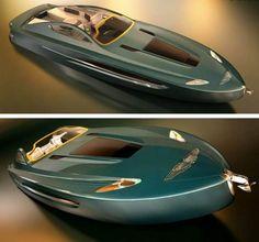 Aston Martin Voyage 55′ boat concept