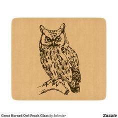 Great Horned Owl Pea