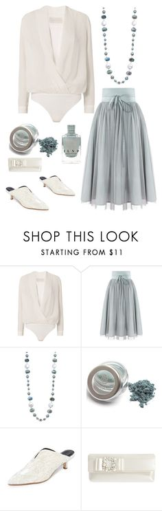 """""""#PolyPresents: Statement Jewelry"""" by im-karla-with-a-k ❤ liked on Polyvore featuring Michelle Mason, Stephen Dweck, TIBI, Nina, contestentry and polyPresents"""