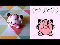 TUTO FIMO | Mélofée PokéPoupée / Clefairy PokeDoll (de Pokémon) - YouTube - Winh8