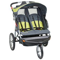 The #Baby #Trend Expedition Double Jogging Stroller makes your job as a parent easier. The dual-seat stroller comfortably fits two children, each up to 50 lbs. It...