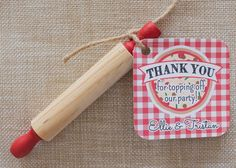 Pizza Party Favor Tags Pizza Birthday Party by thelovelyapple, $7.00