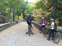 Biking the Carriage Trails in Acadia National Park