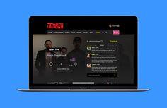 Radio website concept