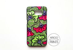 AFROOPRINTS   Phone case Wax African Prints XLVIII