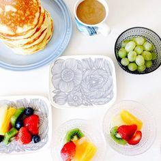 Get ready for summer with healthy foods and Marimekko dinnerware! Available at https://spotitbuyit.com/kiitosmarimekko/posts/5550d56169702d2a32bf5100/