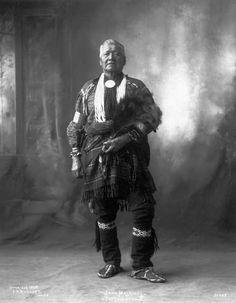 Potawatomi Elder, but no name, date, or location