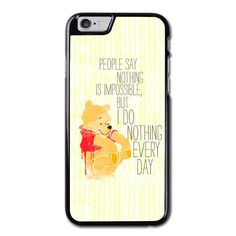 Winny The Pooh Quote Phonecase For iPhone 6/6S Case