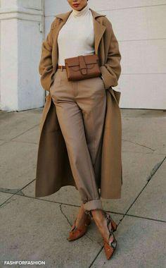 Beige Look From Zara - Outfit inspirations - Zara Outfit, Beige Outfit, Neutral Outfit, Brown Outfit, Mode Outfits, Winter Outfits, Fashion Outfits, Fashion Ideas, Womens Fashion