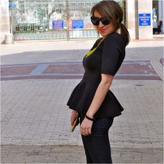 Totally digging this peplum top from H -- photo courtesy of stylewithinreach.net
