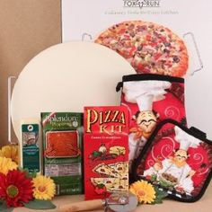 Budget101.com - - Family Pizza Night Gift Basket Idea | Meal Gift Basket Ideas