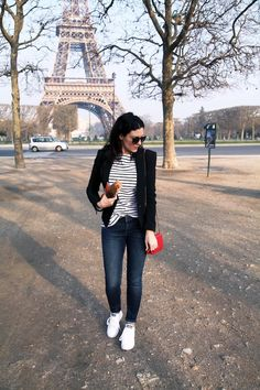 Striped Shirts, Baguettes & the Eiffel Tower