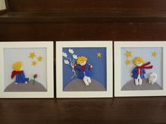 \ Little Prince Party, The Little Prince, Prince Nursery, Baby Deco, Felt Wreath, Felt Fabric, Baby Room Decor, Holidays And Events, Baby Shower Decorations