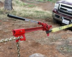 Here& an absolute must have accessory for all Hi-Lift Jack® owners. It& a wonder tool with a seemingly endless list of uses. Simple clevis pin attachment installs on your Hi-Lift Jack® in seconds. Winching is simpler and safer. Jeep Jk, Accessoires Pickup, Navara D40, Vw Lt, Offroader, Truck Mods, Bug Out Vehicle, Lifted Cars, Fj Cruiser