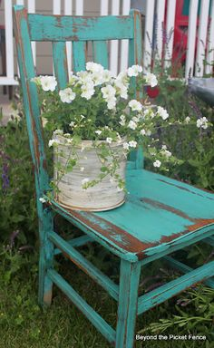 Beyond The Picket Fence: Ideas for old unstable chairs