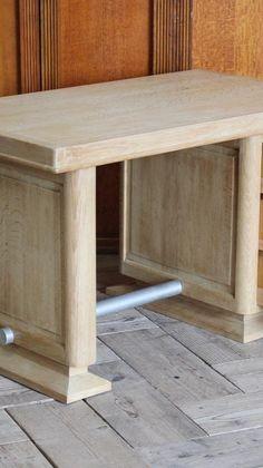 Oak Desk, Antique Desk, French Oak, Antiques, Home Decor, Antiquities, Antique Writing Desk, Antique, Decoration Home