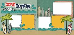 Gone Surfin' Page Kit
