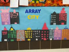 My students did an array city when we began our multiplication unit.
