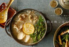 塩麹ベースのお手軽鍋。今が旬の牡蠣のエキスとあいまって絶品に。家族や友人が集まる日に是非試したい!