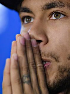 FC Barcelona's Neymar from Brazil attends a commercial event at the Sports Center FC Barcelona Joan Gamper in San Joan Despi, Spain, Monday, Jan. Football Neymar, Football Boys, Psg, Fc Barcelona, Neymar Jr Wallpapers, Paris Saint Germain Fc, Neymar Pic, National Football Teams, Lionel Messi