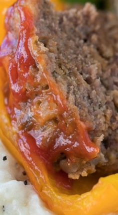 Slow Cooker Meatloaf Stuffed Peppers Mashed Potatoes