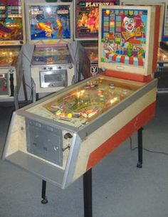 Pinball Pinball Wizard, Penny Arcade, Vintage Games, Amusement Parks, Arcade Games, Game Room, Console, Carnival, Antiques