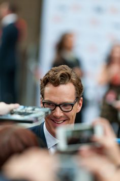 """ Benedict Cumberbatch attends the premiere of ""The Imitation Game"" at the Toronto International Film Festival on Tuesday, Sept. 2014 by Chris Cheung "" Sherlock Cast, Sherlock Holmes, The Imitation Game, Benedict Cumberbatch Sherlock, John Watson, Martin Freeman, International Film Festival, Celebrity Crush, Other People"