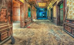 """""""Abandoned School of Witchcraft and Wizardry""""  by Pati Makowska on 500px (Abandoned Palace, Poland)"""