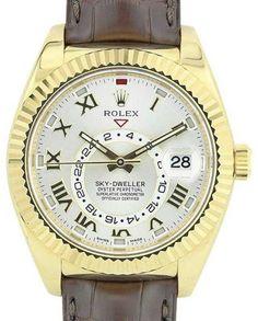 Rolex Sky Dweller 326138 18K Yellow Gold 42mm Watch