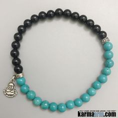 Turquoise is a gemstone that provides protection, grounding, strength, courage, love and luck.Turquoise is also a token of friendship. Perhaps it's strongest ability is for alleviating negativity. Many Indian tribes associate Turquoise with fertility.  ….Beaded Bracelets, Handcrafted Shamballa & Modern Mala, Yoga Chakra Reiki Beaded Stretch Bracelets & Jewelry - Powerful Healing Energy Mens & Womens Natural Gemstone Wrist Stacks.