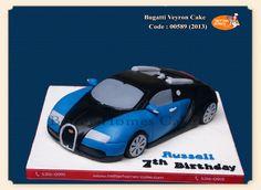 bugatti cake - Google Search 12th Birthday, Car Birthday, Birthday Cakes, Cake Pictures, Cake Pics, Hot Wheels Cake, Minnie Mouse, Sweet Corner, Cake Board