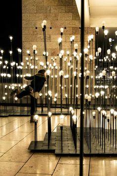 """Iluminación artística. """"LEDscape"""". Premios FAD 2013."""