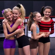 Paige and Chloe, Maddie and Brooke