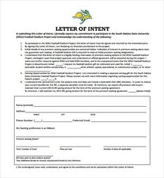 Letter of intent template to purchase goods formal letter of intent national letter of intent footballletter of intent template india httpsbravebtr spiritdancerdesigns Choice Image