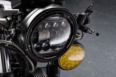 Customise your Cafe Racer or Scrambler with our high quality LED's. Get Discount by using Promo Code: on check out. Custom Bobber, Custom Motorcycles, Custom Bikes, Yamaha Cafe Racer, Cafe Racers, Led Motorcycle Headlight, Mini Jeep, Sv 650, Cb 500