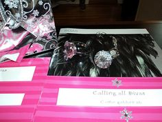 diva party invitations