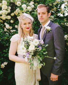 11 Half-Up, Half-Down Wedding Hairstyles We Love